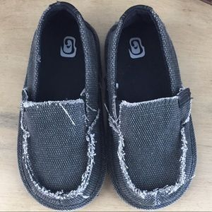 Other - Canvas slip on toddler shoes sz 9